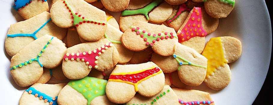 Biscotti a forma di sculacciate erotiche
