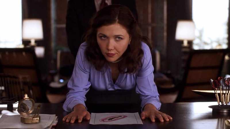 "Spanking nel film ""Secretary"""