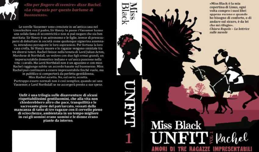 "Cover di ""Rachel"", Miss Black"